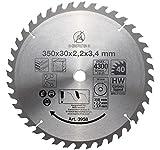 BGS Hartmetall-Kreissägeblatt, Durchmesser 350 mm, 3958