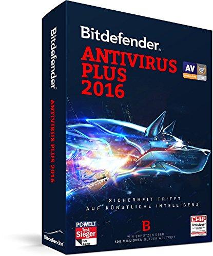 Bitdefender Antivirus Plus 2016 - 3 PC | 1 Jahr - (Lizenz)