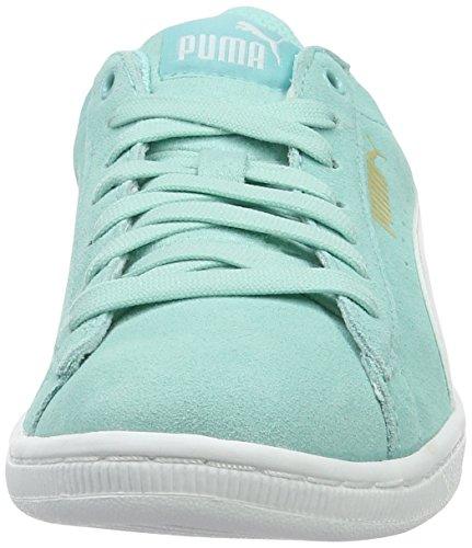 Puma Vikky, Scarpe da Ginnastica Basse Donna Blu (Aruba Blue-puma White 14)