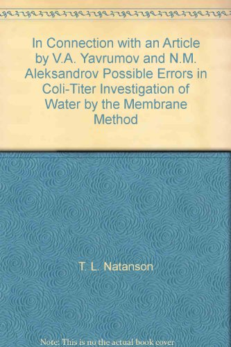 In Connection with an Article by V.A. Yavrumov and N.M. Aleksandrov