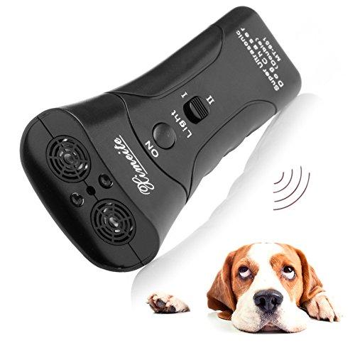 Autone Ultraschall-Taschenlampe für Hunde, Stoppt Aggressive Tierangriffe -