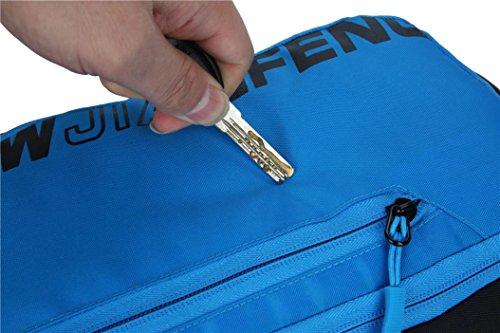 mit dem fahrrad lagerung wassersack rucksack nylon wasserdicht, atmungsaktiv paar freizeitaktivitäten im freien kleinen großen kapazitäten rucksack 5 farben L46x W22 x T7cm Blue