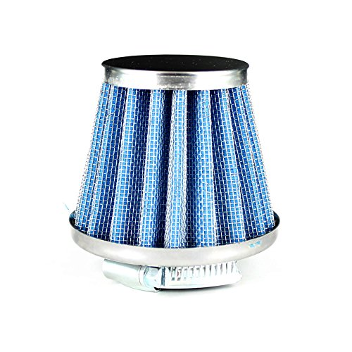 pit-dirt-bike-straight-neck-32mm-kn-air-filter-blue-honda-yamaha-aprilla-49cc