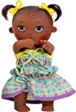 Paola Reina - Zoe, muñeca bebé Negrita, de Vinilo, 22 cm (23567)