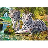 Wentworth 250 Piece Finely Cut Wooden Jigsaw - White Tiger Clan
