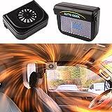 Boldscript (TM) solaire Soleil Puissance de voiture auto Grille d'aération Cool Fan Cooler Système de ventilation Radiateur Durabe Nettoyer Accessoires en caoutchouc Ya091-sz
