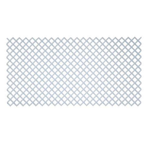 Treillis PVC 1 x 2 m. Quadry blanche 2014897