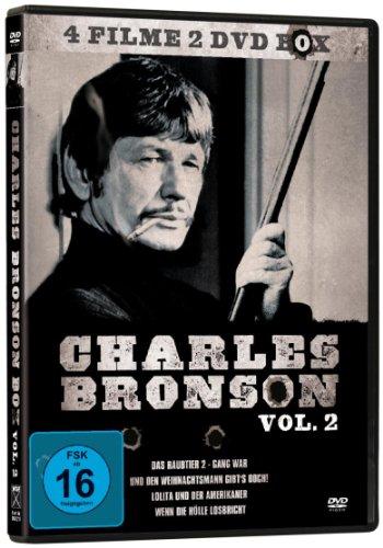 Bild von Charles Bronson 4er-Box Vol. 2 *4 Filme auf 2 DVDs!*