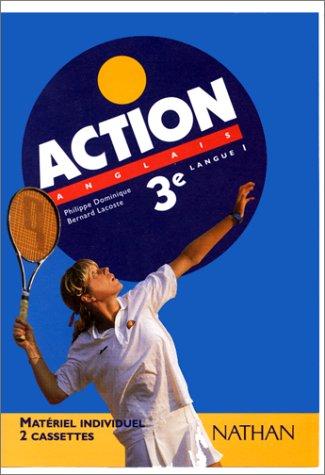 Action : Anglais 3e LV1 (coffret 2 cassettes)