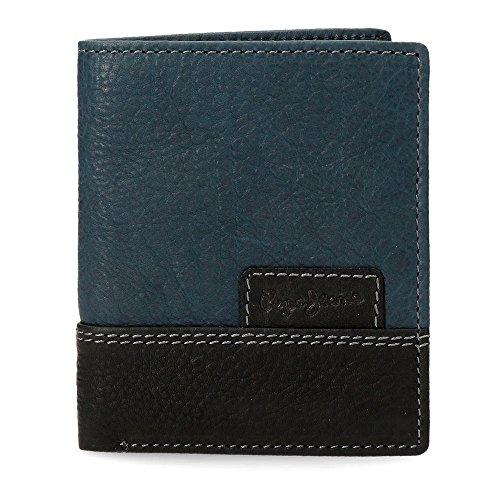 Pepe Jeans New Doors Monedero, 10 cm, 0.09 litros, Azul