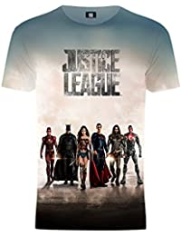 Justice League Unisex Battle Ready Team T-Shirt