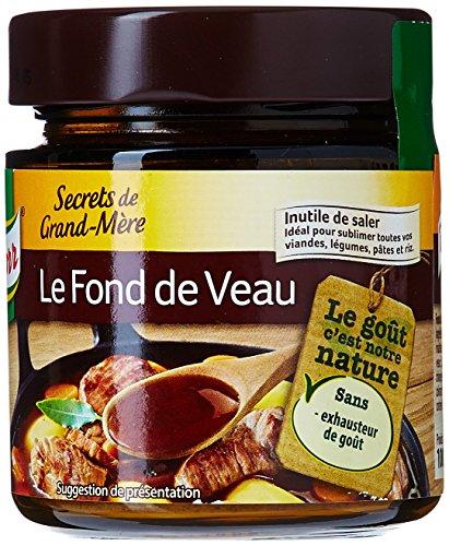 Knorr Fond de Veau Secrets de Grand-Mère 100g - Lot de 4