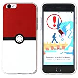 BRILA iPhone 6 6S Plus Pokemon, Pokeball Stile Custodia per iPhone 6 6S 5.5, iPhone 6 6S Plus Pokemon Go Caso