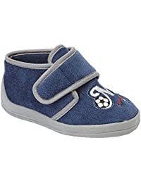 4761bca48 Sleepers Infant Baby Boys Touch Fastening Sports Bootee Ankle Slippers  Shoes Size 4-10