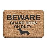 Sotyi-ltd Guard - Felpudo de Entrada para Perro Salchicha