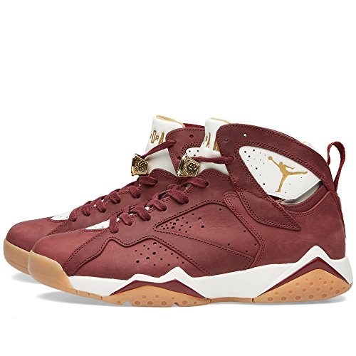 Nike Air Jordan 7 retro C&C 725093 630 (41 / 8 us / 7 uk) varsity red/white