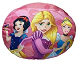Jerry Fabrics Dekorative Wurfkissen für Kinder, Disney Prinzessin Charakter Kissen, Polyester, Rosa, 34 x 19 x 5 cm