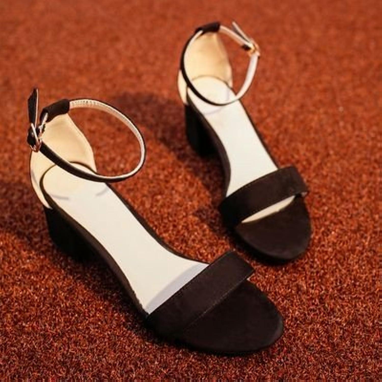 HRCxue luce la punta cava, con elementi di fissaggio, con Bold e selvatici estate sandali femminile, 38 | Qualità Eccellente  | Uomo/Donne Scarpa