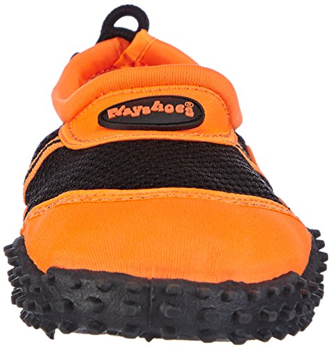 PlayshoesBadeschuhe, Aquaschuhe, Surfschuhe - Scarpe da Scogli Donna Arancione (Orange (orange 39))