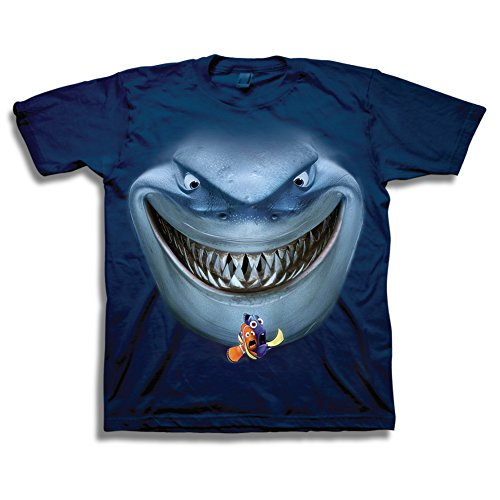 Finding Nemo Smiling Bruce Boys T-Shirt