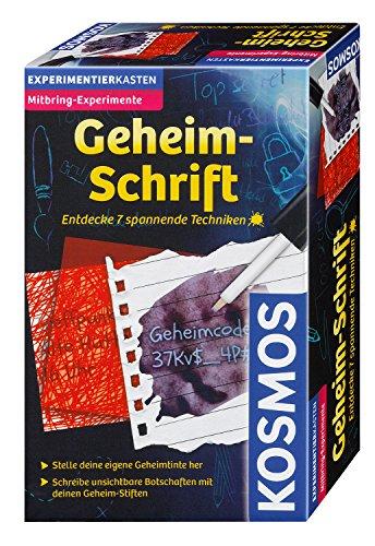 Kosmos Experimente & Forschung 657574 Geheim-Schrift
