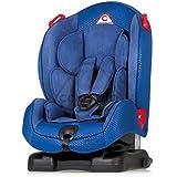 Asiento de coche para niños reclinable con reducción cápsula MN3Isofix de 9meses a 6años (I, II) azul