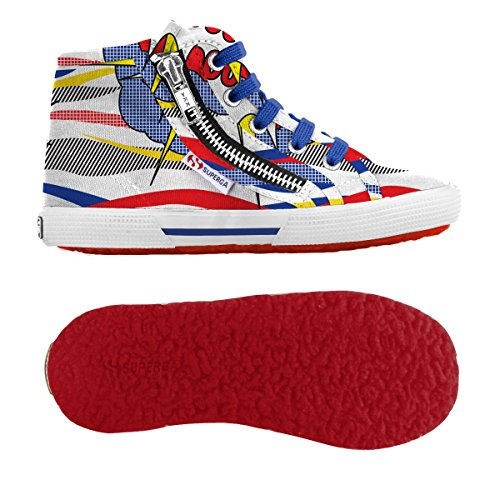 Sneakers - 2224-fantasy Cotj - Bambini Comics Red-Blue