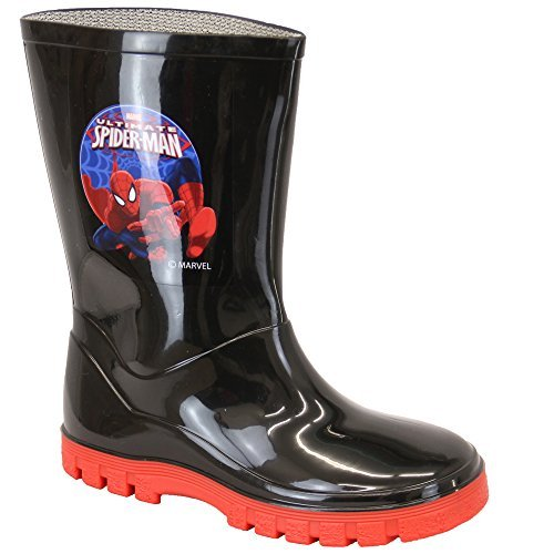 Garçons Bottes Favori Bottes En Caoutchouc Spiderman Olaf Star Wars Mi-mollet Disney