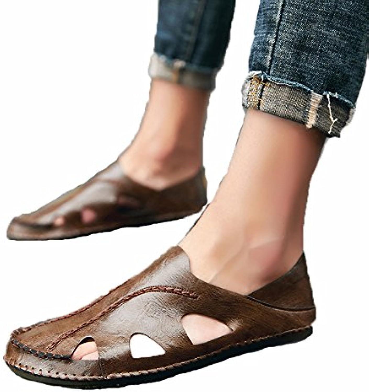 WCZ Baotou sandali sandali sandali 2018 estate buche scarpe da spiaggia casual da uomo traspiranti,Marronee,40 | Fashionable  3d492a