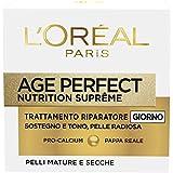 L'Oréal Paris Age Perfect Nutrition Supreme Crema Viso Riparatore Giorno, 50 ml