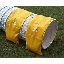 Doble ración sacos para túnel agility de Callieway® – 2 alforjas para tunéles agility
