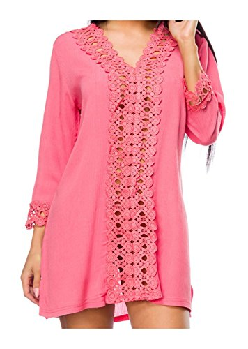 Tunika von Luxury & Good Dessous Pink