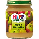 Hipp bio Apple & Pear Pudding 4mois + (125g) - Paquet de 6