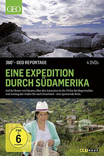360° - GEO Reportage: Eine Expedition durch Südamerika [4 DVDs] (Expedition Erde)