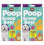 Pat de la pala de caca perro bolsas de basura con aroma de limón desechables bolsas por mundo de mascota–Pack de 250