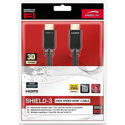 Speedlink Shield-3 Cavo HDMI ad Alta Velocita con Ethernet per