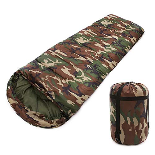 FOBHIYATM International Sleeping Bag,Portable and Lightweight for 2-3 Season Camping, Hiking, Traveling, Backpacking and Outdoor Activities (Camouflage)