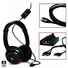 Sony PlayStation 3 - Auriculares Stereo Gaming CP-Kit (Auriculares + Base Carga Dualshock + HDMI)