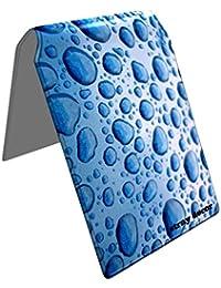 Stray Decor (Pearl Blue Water) Étui à Cartes / Porte-Cartes pour Titres de Transport, Passe d'autobus, Cartes de Crédit, Navigo Pass, Passe Navigo et Moneo