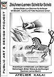 PADP-Script 11: Zeichnen lernen Schritt für Schritt - Schöne Bilder zum Zeichnen für Anfänger - Mit Bleistift, Tusche und Feder illustrieren lernen: ... Buch I (PADP Muster-Vorlagen & Design-Ideen)