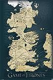 Game of Thrones Poster Die sieben Königreiche (61cm x 91,5cm) + Ü-Poster