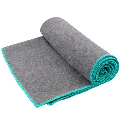 Natuce Yoga-Handtücher, rutschfestes Mikrofaser-Handtuch mit Tragetasche für Hot Yoga, 183 cm, 61 cm
