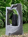 Brunnen Springbrunnen FoColonnina für Aussen