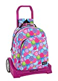 Blackfit8 'Cookies' Oficial Mochila Deportiva, Modelo 305 con Carro Safta Evolution, 320x420x150 mm, Multicolor