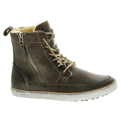 Blackstone LAOS TOWN CW96 Damen Chukka Boots Grau (Gull)
