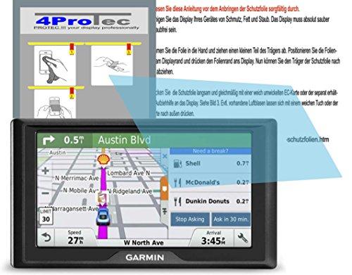 Preisvergleich Produktbild 2 Stück GEHÄRTETE ANTIREFLEX Displayschutzfolie für Garmin Drive 60LMT Bildschirmschutzfolie