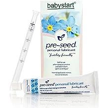 Pre-Seed Lubricante de Embarazo Fertilidad - Gel Lubricante Intimo - En los Dias Fertiles de la Mujer Aumenta la Posibilidad de Embarazo - Lubricante para Concebir - Tubo de 40 gr y 9 Aplicadores