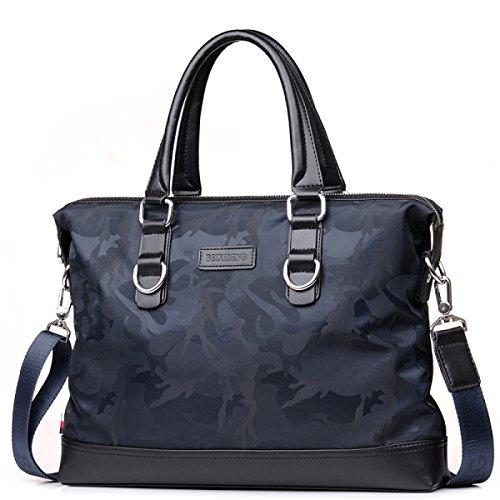 Männer Tasche Wasserdichte Handtasche Männer Aktentasche Business Schultertasche Messenger Tasche Oxford Stoff Tasche Leinwand Freizeit-Paket C