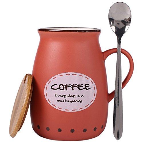 Bje Hot & Cold Ceramic Beverage Mug For Coffee, Tea...