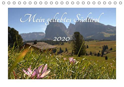 Mein geliebtes Südtirol (Tischkalender 2020 DIN A5 quer): Einzigartige Bildreihe durch Südtirols schönste Landschaften (Monatskalender, 14 Seiten ) (CALVENDO Natur)